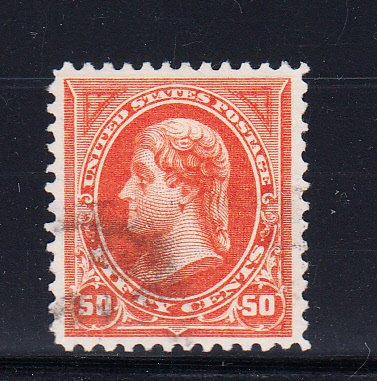 US #275 VF/XF used extra lightly cancelled Gem! Tough stamp.