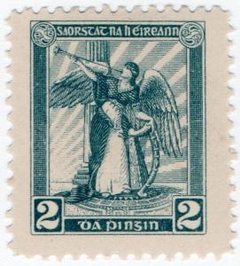 (I.B) Ireland Cinderella : Dollard Stamp Essay 2d (shade 7)