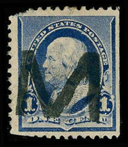 U.S. POST 1890 CANCELS 219  Used (ID # 68512)