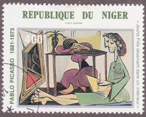 Niger C314 CTO 1981 Pablo Picasso Painting