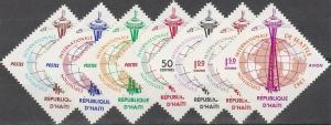 Haiti #496-9, C200-02  MNH F-VF CV $3.10 (V735L)