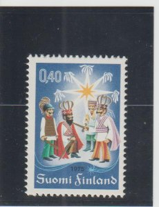Finland  Scott#  581  MNH  (1975 Christmas)