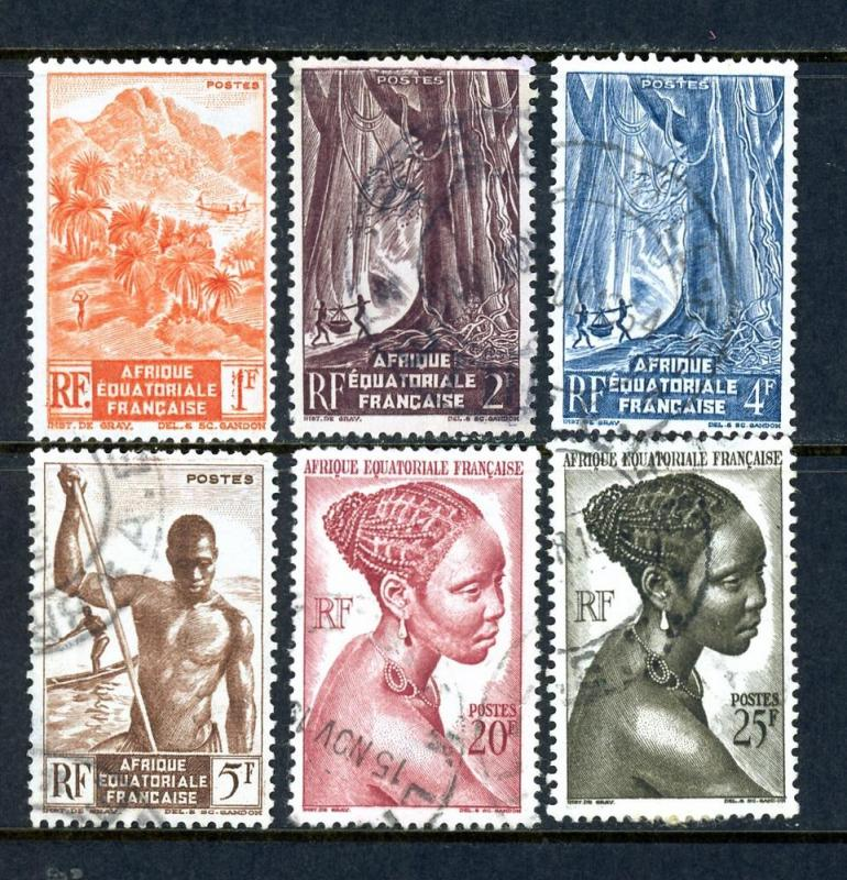 French Equatorial Africa 172//184 Mixed (Short Set)