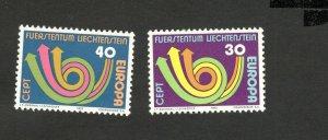 EUROPA CEPT-MNH** - SET- LIECHTENSTEIN - 1973.