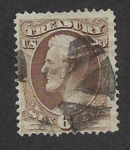 UNITED STATES SC# O75 FINE U 1873