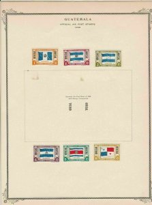guatemala stamps page ref 17209