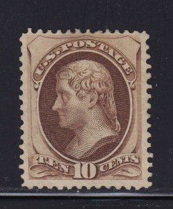 188 F-VF unused ( mint no gum ) with Rich color cv $ 875 ! see pic !