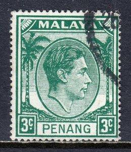 Malaya (Penang) - Scott #34 - Used - SCV $4.00