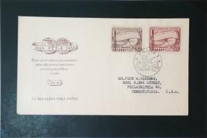 Czechoslovakia 1950 PTTaR Series First Day Cover - Z3497