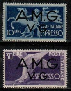 Italy Scott 1LNE1-2 Mint NH (Catalog Value $12.75)