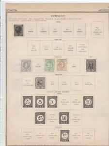 Curacao Stamps Ref 14642
