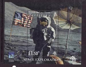 BIOT-Sc#382-unused NH sheet-Space Exploration-Capt. Alan Bean-Astronaut-Flags-20