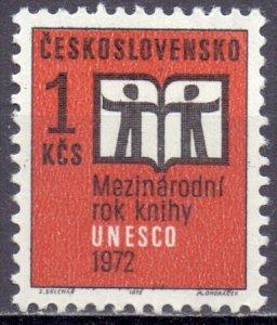 Czechoslovakia. 1972. 2058. Book year. MNH.