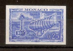 Monaco 1962 25c Imperf MNH Photosphere