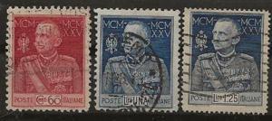 Nickel Auction. Italy 175-177 u [bn08]