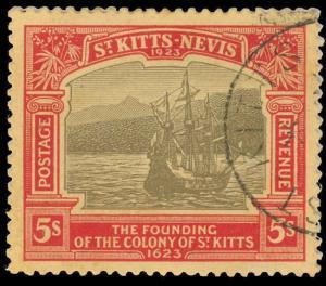 St. Kitts-Nevis Scott 63 Gibbons 59 Used Stamp