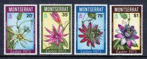 Montserrat - Scott #288-291 - MNH - SCV $4.25