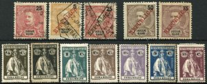 INHAMBANE Postage Portuguese Colony Stamp Collection East Africa Used Mint LH