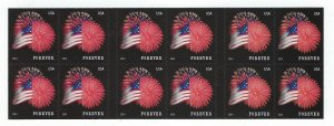 U.S. #4855a FIREWORKS  BOOKLET PANE MINT, NH AT FACE VALUE!