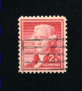 USA #1033  3 used 1954-1968 PD .08