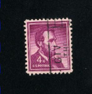 USA #1036  6 used 1954-1968 PD .08