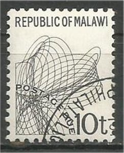 MALAWI 1998 used 10t POSTAGE DUE Scott J11