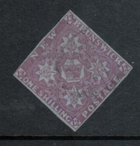 New Brunswick #3 Very Fine Used - Very Light Cancel **With Certificate**