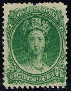 Nova Scotia #11 Queen Victoria; Unused (3Stars)