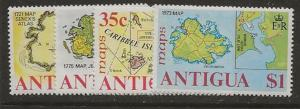 Dollar Special. Antigua 379-382 nh CV $4.00 [aa03]