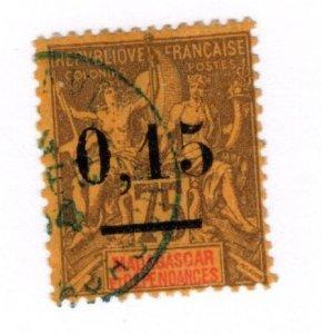 Madagascar #54 Used - Stamp CAT VALUE $7.25