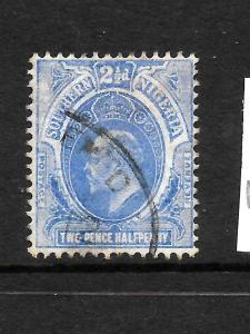 SOUTHERN NIGERIA  1910-11  2 1/2d  KEVII   FU    SG 35