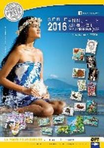 TAHITI (FRENCH POLYNESIA) - 2016 COMPLETE YEAR SET, MNH