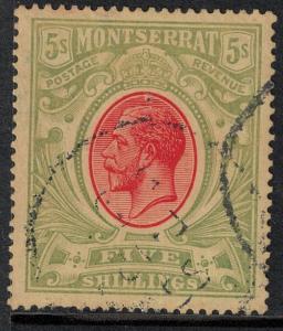 Montserrat 1913 SC 42 USED SCV $160.00