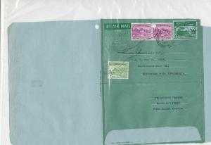 Pakistan 1966 Progressive Traders Commercial Stamped Aerogramme to Holland 26668