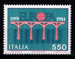 Italy 1984 Europa 550l, 25th Anniv. of European Post and Telecoms. Conf. [Mint]