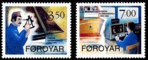 Faroe Islands #268-269 Fa264-265 MNH CV$3.50