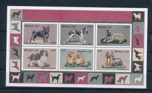 [30150] Burkina Faso 1999 Animals Dogs MNH Sheet