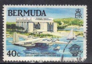 BERMUDA SC# 443 **USED**  40c  1983        SEE SCAN