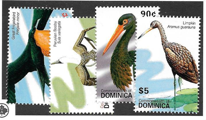 Dominica.  #2619-2622,    Mint NH