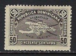 DOMINICAN REPUBLIC 118 MOG MAP N264