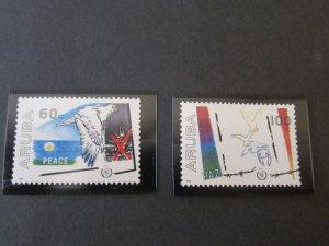 Aruba Bird 1986 Sc 22-3 Bird set MNH
