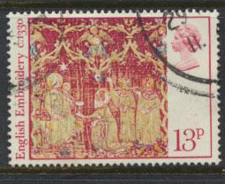 Great Britain SG 1021  - Used  - Christmas 1976