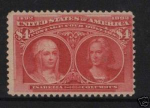 USA #244 Mint