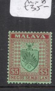 Malaya Negri Sembilan SG 39 MNH (5dma)