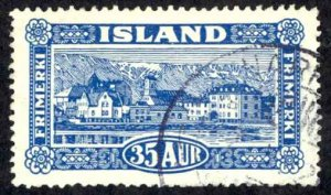 Iceland Sc# 147 Used 1925 35a Views