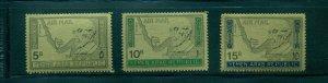 Yemen #C33H-J (1968 Adenauer Gold Foil set) VFMNH CV $11.15