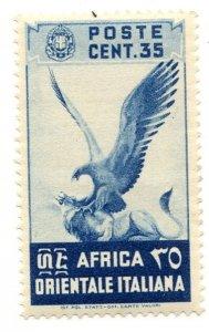 Italian East Africa, Scott #9, Unused, Hinged