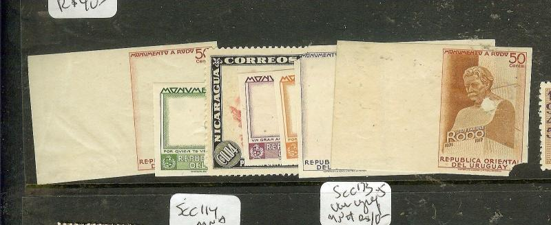 URUGUAY (P1008B) SET OF 7 PROOFS EX ARCHIVES