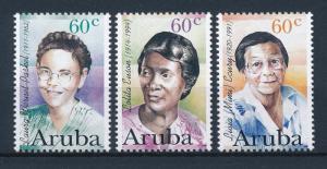 [AR182] Aruba 1996 Famous women  MNH