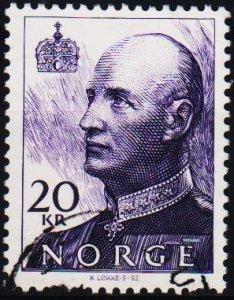 Norway. 1992 20k S.G.1438 Fine Used